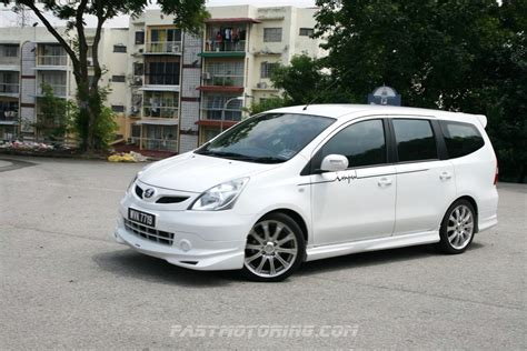 nissan malaysia 2011 nissan grand livina tuned by impul test drive in