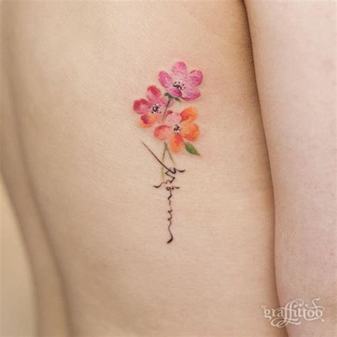tattoo flower sister 40 amazing sister tattoo ideas and pictures