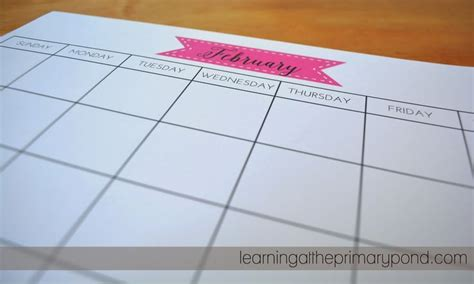 my homemade planner printable calendars and planners