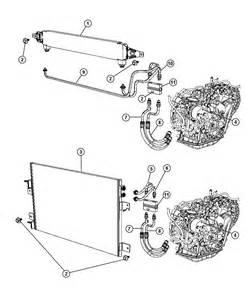 2008 dodge caliber transmission cooler and lines