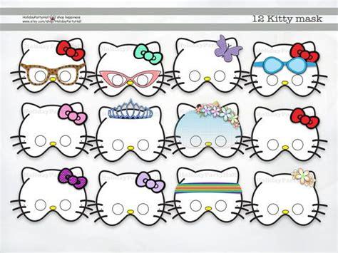 hello kitty mask printable template printable hello kitty mask hello kitty printable masks
