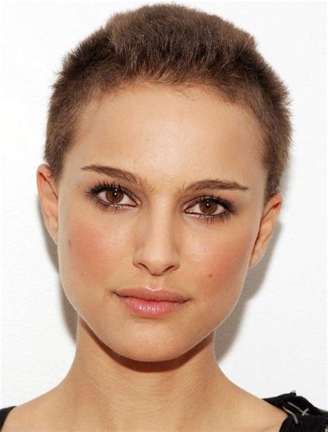women with crew cut haircuts pictures natalie portman very short buzz cut cool buzzcut on women