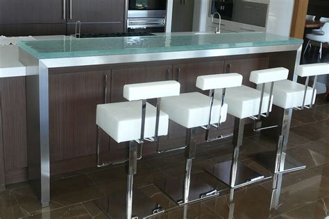 Raised Bar Countertop by Trends Talking Glass Countertops With Vladimir