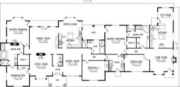 Marvelous Small 5 Bedroom House Plans #7: 41-1210m.gif