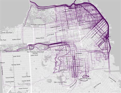 san francisco running map new map plots where run in toronto