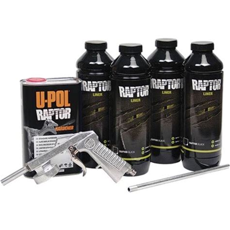 bed liner spray kit u pol 174 raptor spray on truck bed liner kit black tp