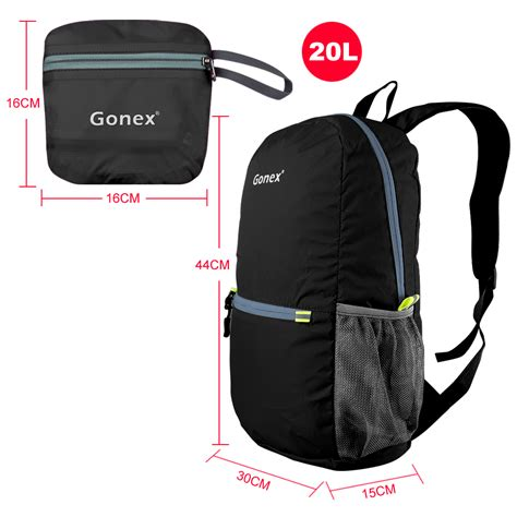 waterproof day backpack gonex outdoor sports cing hiking backpack bag folding