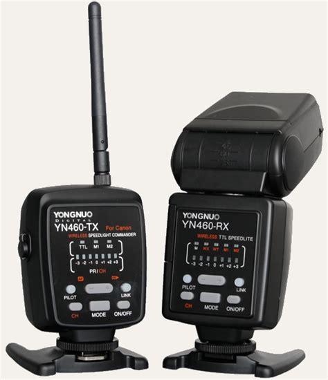 Yongnuo Yn 460 yongnuo wireless ttl flash system for canon released