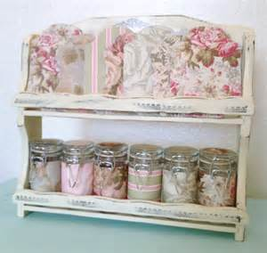 shabby chic craft sewing room vintage storage by fifisfactory