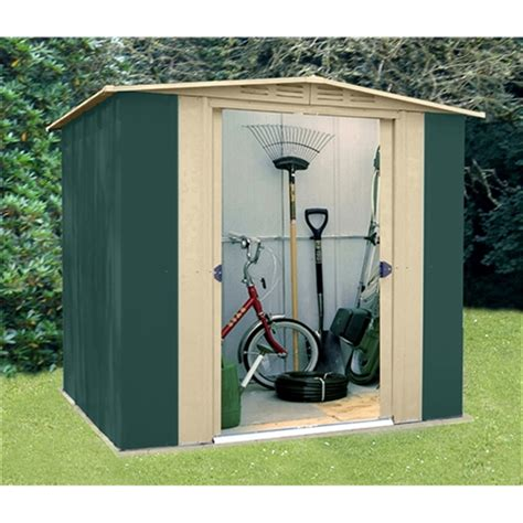 Metal Sheds 6 X 6 by 6 X 6 Deluxe Six Metal Shed 183m X 185m Best Price From I