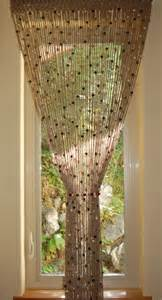Kitchen Door Curtain Jute Crochet Curtain Door Or Window With Wooden