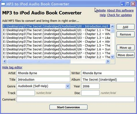 audio books m4b to mp3 converter mp3 to ipod audio book converter freewaregenius com