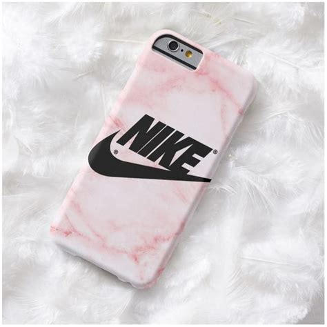 Nike Black Iphone 7 7 Plus Casing Cover Hardcase pink marble nike phone iphone 7 7 plus 5 iphone 6 plus 20 cad liked on polyvore