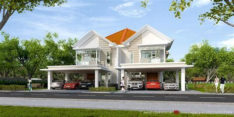 semi detached home design news beautiful modern design double storey semi detached house