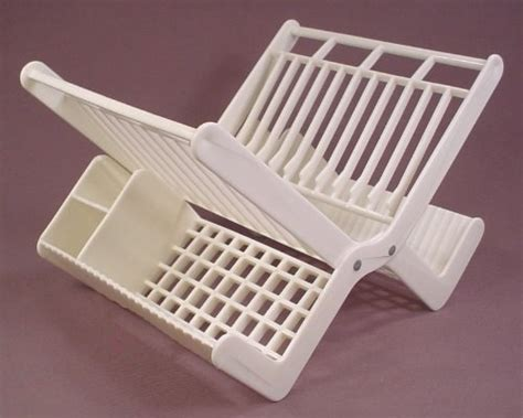 Superhuman Dish Rack by Fisher Price 1995 White Dish Rack From A 3302 Or 73302 4 In 1 Set With Food 8 Inches
