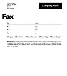 Fax Template Word 2010 by To 5 Free Fax Cover Sheet Templates Word Templates