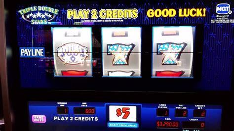 triple double stars high limit slot machine jackpot youtube