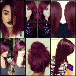 maroon hair color obsessed with this burgendy hair color such a beautiful