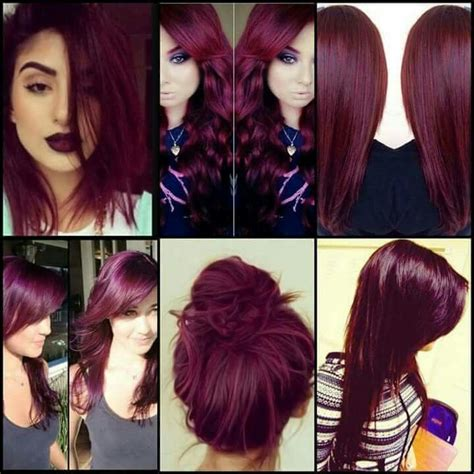 25 best ideas about burgundy hair on