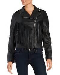 design lab leather jacket theperfext black leather fringe gina jacket where to buy