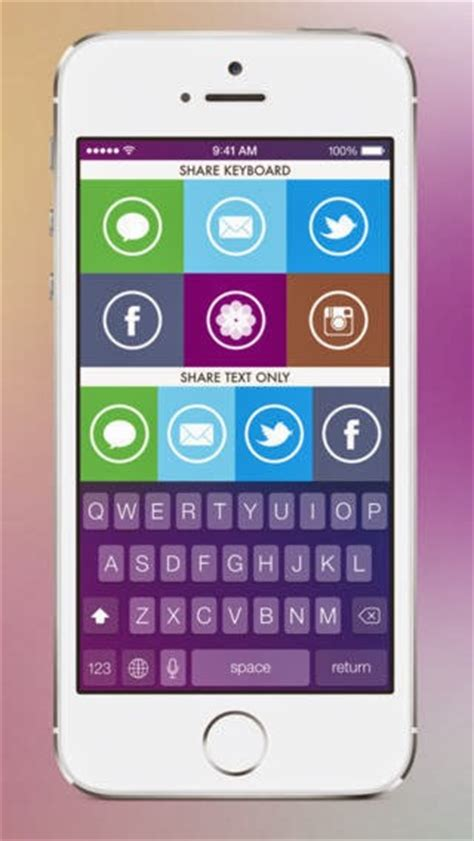 themes for iphone keyboard color keyboard for ios 7 quickly theme your iphone