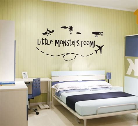 removable wall stickers ebay ebay monsters room boys airplane wall stickers