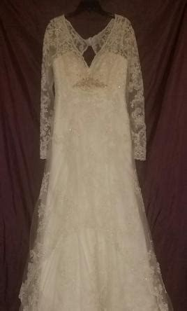 Dress A011 casablanca a011 450 size 12 sle wedding dresses