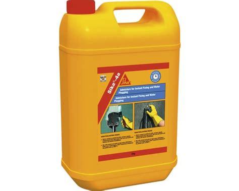 Ciment à prise rapide, produit d'étanchéité Sika 4A 5 kg Acheter sur HORNBACH.ch