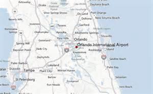 orlando international airport location guide
