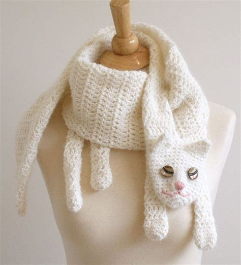 knitting pattern cat scarf cat cuddler scarf pattern by bees knees knitting crochet