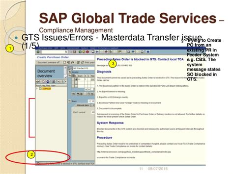 sap gts tutorial pdf sap gts online training
