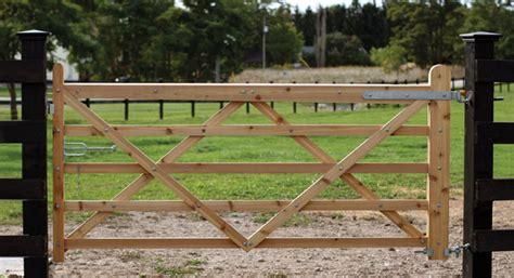 double  rail gate  gate plans