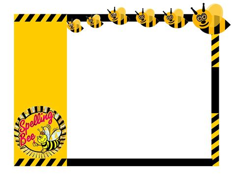 spelling bee invitation template spelling bee certificate clip invitation templates