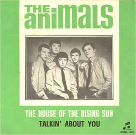 house of the rising sun animals the animals the house of the rising sun talkin about you vinyl at discogs