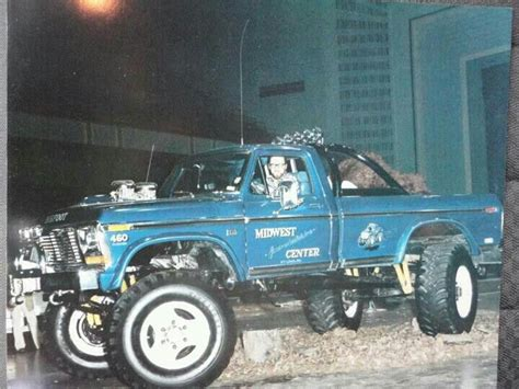 old monster truck videos love old pictures of bigfoot
