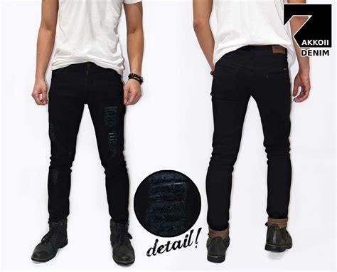 Harga Celana Levis Hitam klikfashions celana denim hitam sobek update
