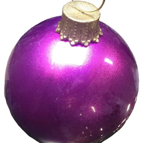 giant size glitter ball ornaments  holiday displays