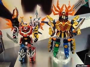 toy fair 2011 bandai power rangers samurai collectiondx