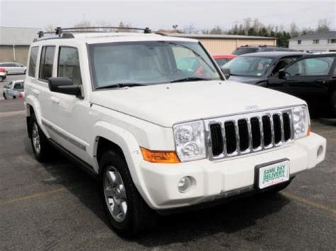 Transitowne Jeep Used 2007 Jeep Commander Limited 4x4 For Sale Stock