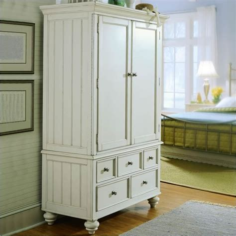 american drew camden antique white tv wardrobe armoire