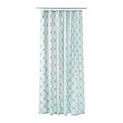 Turquoise Curtains Ikea Ingeborg Shower Curtain Ikea