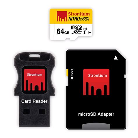 Termurah Microsd Strontium Nitro 16gb Speed 433x 65mb S strontium nitro 566x microsdxc card 3 in 1 64gb 85mb s uhs 1 deals special offers