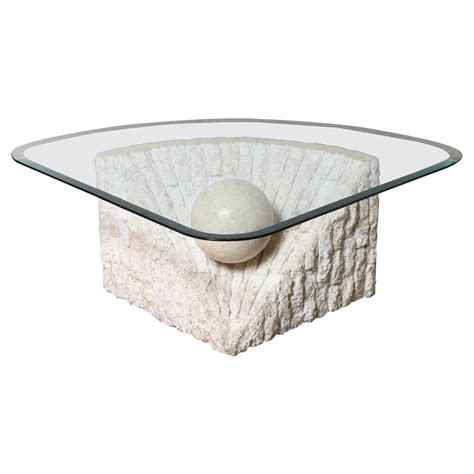 Coffee Table Base For Glass Top 2018 Popular Marble Base Glass Top Coffee Table