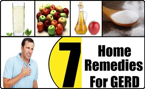 7 home remedies for gerd treatments cure for