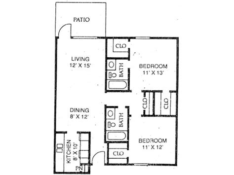 650 sq ft floor plan 2 bedroom 650 sq ft floor plans