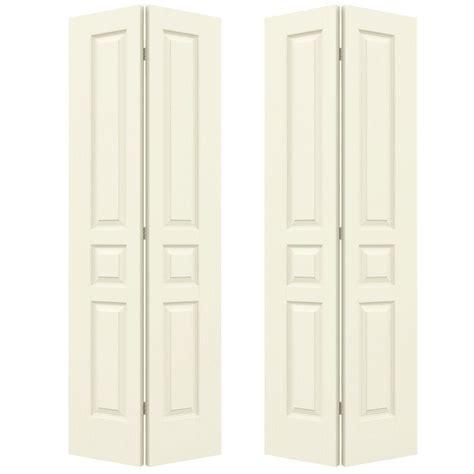 70 Inch Closet Doors Jeld Wen 72 In X 80 In Woodgrain 3 Panel Hollow Molded Interior Closet Bi Fold Door