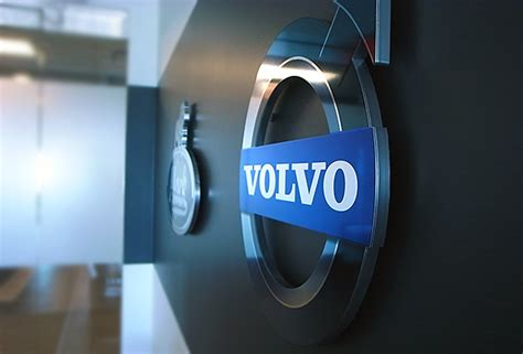 volvo office office signs custom wall business signs 3d signs