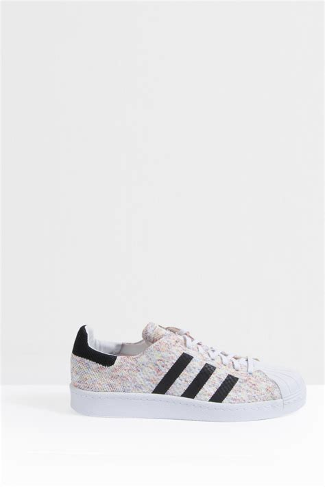 Adidas Prime White Original adidas originals superstar prime knit sneakers in white lyst