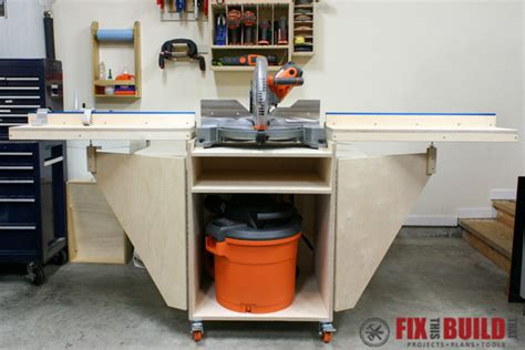 mobile build a how to build a mobile miter saw station part 1