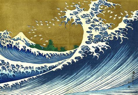 japanese painting arthouse katsushika hokusai